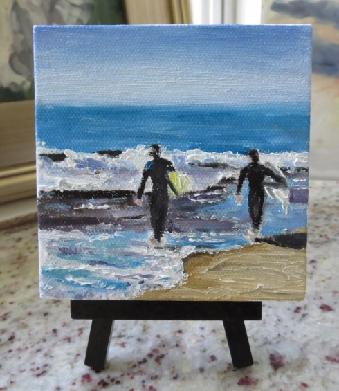 Looking to Surf ©2015 Karin Naylor